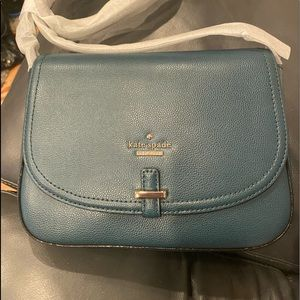 Emerald/Hunter Green Kate Spade Crossbody Bag